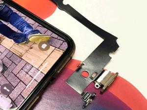 iphonexsmax 画面修理 修理 マイク スピーカー ZOOM 交換 山梨 甲府昭和