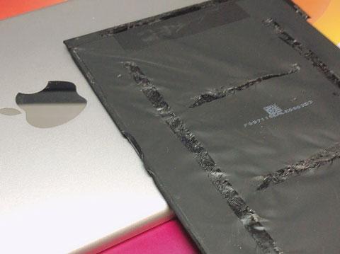 ipad mini4 電池交換 バッテリー交換 タブレット 膨張 zoom 修理 山梨 甲府昭和