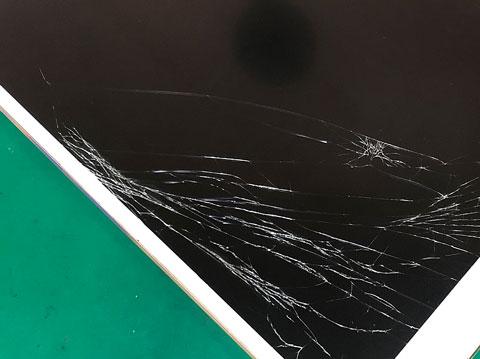 ipad pro 10.5,画面修理,ガラス交換,タブレット,zoom,修理,山梨,甲府昭和