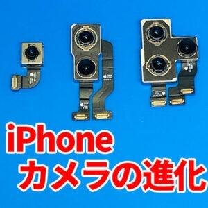 iPhoneのカメラ進化