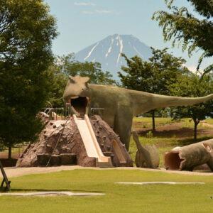恐竜の遊具で有名な双葉水辺公園付近のiPhone修理店はスママモがおすすめ!